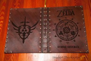 The Hyrule Historia by Photoguy42