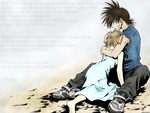Recca and Yanagi Wallpaper by AngelDrake
