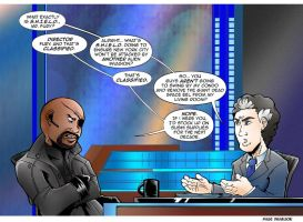 TDS/TCR Avengers Comic: Nick Fury by Saturn-Kitty