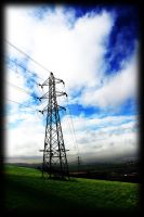 Electricity Pylon by scuroluce