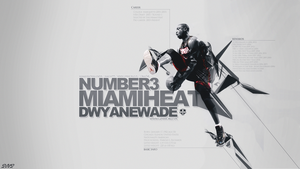 Dwyane Wade Wallpaper by SimonT95