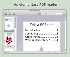 An elementary PDF reader ? by Shakipu