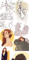 Elves, Panthers and Harpies - Oh my! by Chopstuff