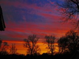 Feb 6 2015 sunset #2 by HomeOfBluAndshadows