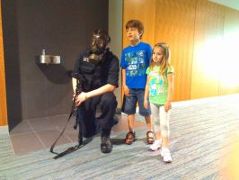 NF Comicon : Me and Kids by TheWarRises