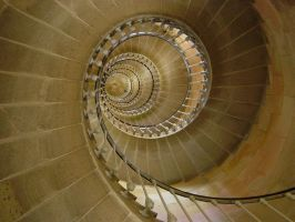 Lighthouse stairs by RTyson