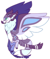 Mothbat Auction (Fox-type) /CLOSED by bananamantis