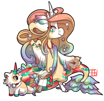 #533 Blessed Tale BB w/m - Siren by griffsnuff