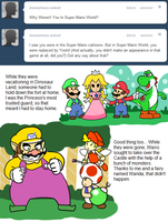 Ask Toad - Super Mario World? by pocket-arsenal