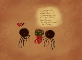 Romantic Daddy Longlegs by LaughingSkeleton