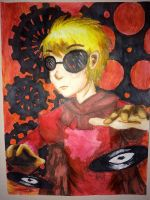 Dave Strider by DragonFang17