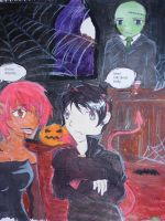 A fowl halloween by yamiswift