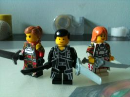 Sword Art Online minifigs by Sovereign64