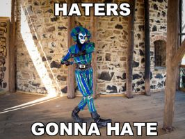 Harlequin - Haters gonna hate by zahnpasta