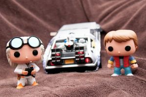 Back To The Future Pop Vinyls II by LDFranklin