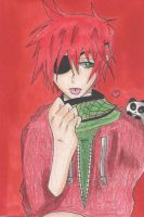 Lavi and a panda by DarkPitFan2012