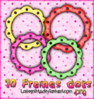 Frames Dots by Loreenitta