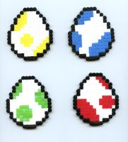 Yoshi Eggs by Frost-Claw-Studios