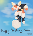 Fan Art: Happy Birthday, Yassui! (2015) by IntrepidIllusionaire