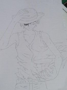 Monkey D Luffy from One Piece by AnimeManga4Evermore