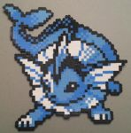 Vaporeon Perler by DuctileCreations