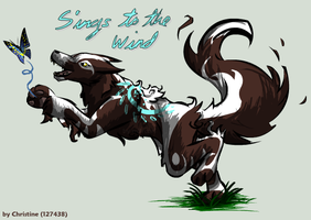 Sings to the Wind by TinTans