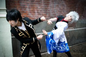 Gintama - THIS WAY DAMMIT. by kitsunesqueak