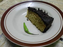Coffee cake with chili by oodell