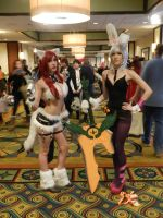 Anime Los Angeles 2015 Katarina and Riven by Demon-Lord-Cosplay