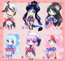 Adopts: SOLD OUT by RaineSeryn