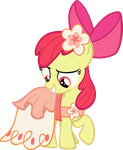 Fancy Applebloom by SaturnStar14