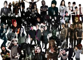 Band Collage by XmelloXjordison