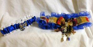 Updated Doctor Who Wedding Garter photo by EruwaedhielElleth