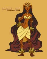 Pele, Fire Goddess of Kilauea by shoomlah