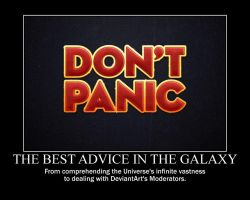 Motivation - DONT PANIC by Songue