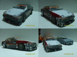 scale model c33 drift car by evil-hanzel