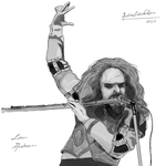 Ian Anderson from Jethro Tull by JineteNegro666
