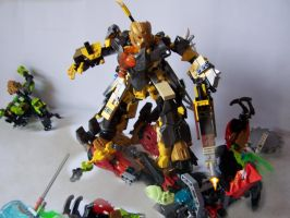 Steelax Master of Weapons (my Self-MOC) 17 by SteelJack7707