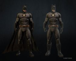 Batman Wireframe by sumutf
