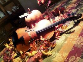 Autumn Music by lilyzoe07