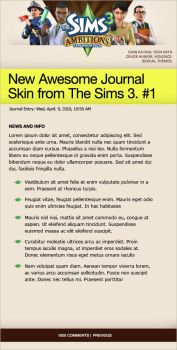 The Sims 3: Ambitions_Skin 1 by bionikdesign
