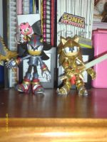 SONIC AND THE BLACK KNIGHT-FIGURES by BlazetheCat1445