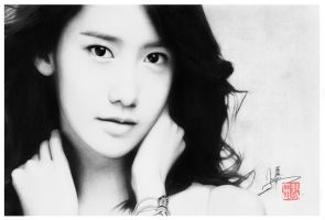 SNSD- YOONA DRAWING by WilliamTin