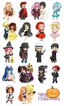 BigC: Chibi Halloween Project!! by Jusace