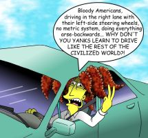 Bloody American Drivers by Nevuela