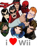 I Heart Wii Cover by misterzubair