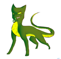 request Snake Cat by Acryliclce