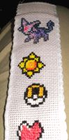 Final Pokemon Bookmark by SenbonGirl7