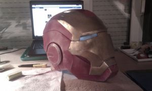 iron man mk 7 helmet finished by EyeofSauron