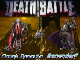 Death Battle: Dracula Vs Ganondorf by Stormtali